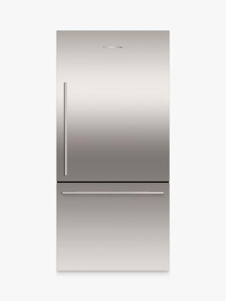 Buy Fisher & Paykel RF522WDRX4 Fridge Freezer, A+ Energy Rating, 80cm Wide, Stainless Steel Online at johnlewis.com