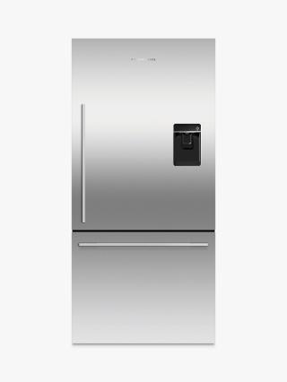 Buy Fisher & Paykel RF522WDRUX4 Fridge Freezer, A+ Energy Rating, 80cm Wide, Stainless Steel Online at johnlewis.com