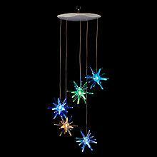 Buy John Lewis Indoor Starburst LED Mobile, Multi Online at johnlewis.com