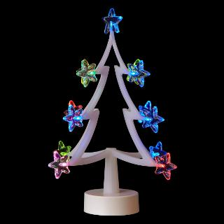 Buy John Lewis Acrylic Multicolour Star Tree Online at johnlewis.com