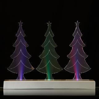 Buy John Lewis Morphing Triple Tree Decoration Online at johnlewis.com