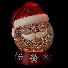 Buy John Lewis Morphing Santa Snow Globe Online at johnlewis.com