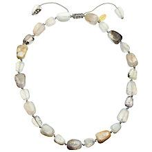 Buy Lola Rose Eva Agate Necklace, White Online at johnlewis.com