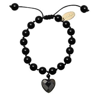 Buy Lola Rose Millie Bracelet, Black Online at johnlewis.com