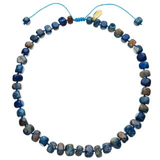 Buy Lola Rose Bryson Blue Fossil Jasper Necklace, Blue Online at johnlewis.com