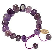 Buy Lola Rose Fern Cape Amethyst Bracelet, Purple Online at johnlewis.com