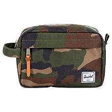 Buy Herschel Chapter Wash Bag, Camouflage Green Online at johnlewis.com