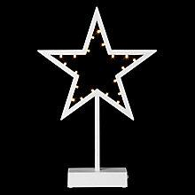 Buy John Lewis Pre-lit Star LED Light, Warm White Online at johnlewis.com