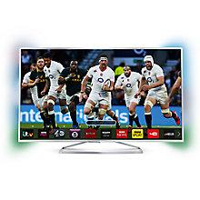"Buy Philips 48PFS6609 LED HD 1080p 3D Smart TV, 48"" with Freeview HD, Ambilight and 2x 3D Glasses Online at johnlewis.com"