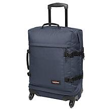 Buy Eastpak Transmitter Small 4-Wheel Suitcase, Navy Online at johnlewis.com
