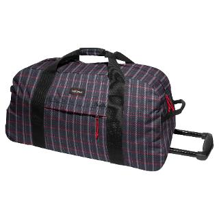 Buy Eastpak Container XL 2-Wheel Holdall, Check Black Online at johnlewis.com