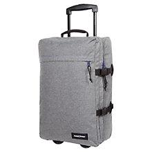 Buy Eastpak Wow 2-Wheel Holdall, Melout Grey Online at johnlewis.com