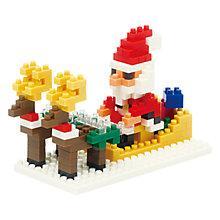 Buy Nanoblocks Santa and Reindeer Set Online at johnlewis.com