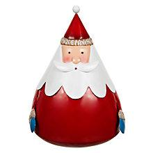 Buy John Lewis Large Wobbly Santa Online at johnlewis.com