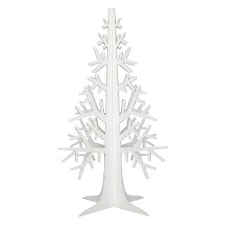 Buy House by John Lewis Wooden Laser-Cut Tree, White Online at johnlewis.com