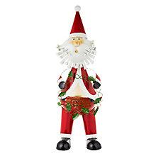 Buy John Lewis Large Wobbly Father Christmas, Multi Online at johnlewis.com