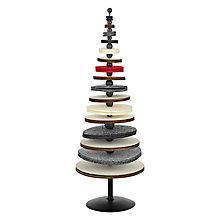 Buy John Lewis Felt Tabletop Tree, Multi Online at johnlewis.com