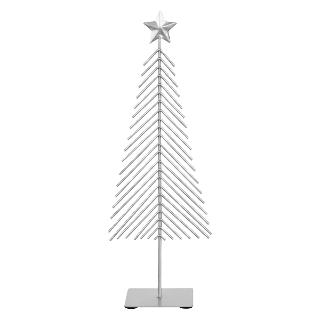 Buy John Lewis Metal Christmas Tree, Silver Online at johnlewis.com