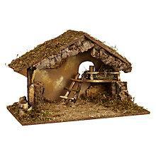 Buy John Lewis Large Nativity Crib Online at johnlewis.com