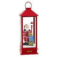 Buy John Lewis Singing Santa Lantern Online at johnlewis.com