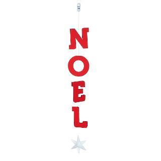 Buy Livingly Noel Star Mobile, Red / White Online at johnlewis.com