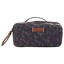 Buy Ted Baker McGuigan Camo Wash Bag, Navy Online at johnlewis.com