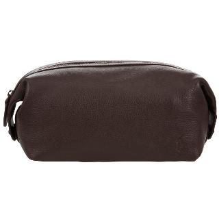 Buy Polo Ralph Lauren Pebble Leather Wash Bag Online at johnlewis.com
