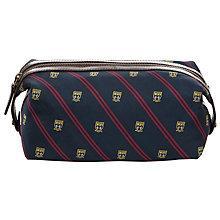 Buy Polo Ralph Lauren Tie Silk Preppy Wash Bag, Navy Online at johnlewis.com