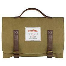 Buy Hook Line and Sinker Wash Bag, Khaki Online at johnlewis.com