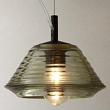 Buy Tom Dixon Pressed Glass Bowl Pendant Online at johnlewis.com