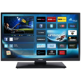 """Buy Linsar 24LED980 LED HD 720p Smart TV, 24"""" with Freeview HD Online at johnlewis.com"""
