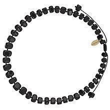Buy Lola Rose Bryson Agate Necklace, Black Online at johnlewis.com