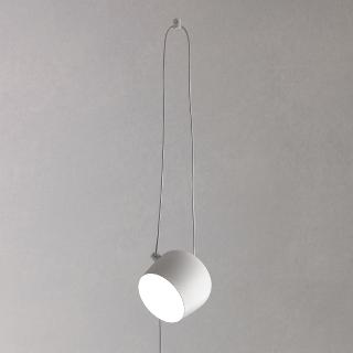 Buy Flos Aim LED Ceiling Light, White Online at johnlewis.com