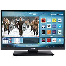 "Buy Linsar 28LED2000S LED HD Ready Smart TV/DVD Combi, 28"" with Freeview HD Online at johnlewis.com"
