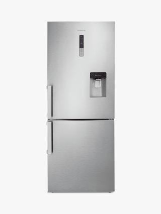Buy Samsung RL4362FBASL Fridge Freezer, A+ Energy Rating, 70cm Wide, Stainless Steel Online at johnlewis.com