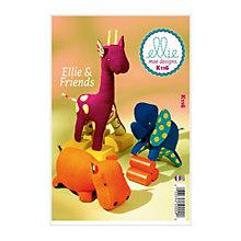Buy Kwik Sew Ellie and Friends Soft Toy Sewing Pattern, 0116 Online at johnlewis.com