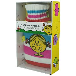 Buy Mr Men Little Miss Sunshine Hot Water Bottle and Cover Online at johnlewis.com