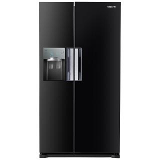 Buy Samsung RS7667FHCBC American Style Fridge Freezer, Black Online at johnlewis.com
