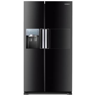 Buy Samsung RS7677FHCBC American Style Fridge Freezer, Black Online at johnlewis.com