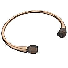 Buy Lola Rose Pomona Obsidian Bracelet, Rose Gold/ Black Online at johnlewis.com