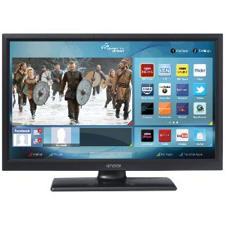 """Buy Linsar 22LED2000S LED HD 1080p Smart TV/DVD Combi, 22"""" with Freeview HD Online at johnlewis.com"""