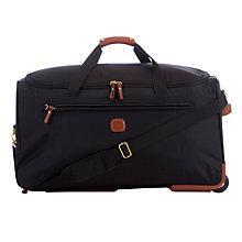 Buy Brics X-Travel 70cm Trolley Duffle Bag, Black Online at johnlewis.com
