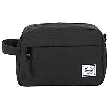 Buy Herschel Chapter Washbag, Black Online at johnlewis.com