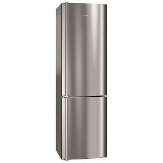 Buy AEG S83430CTX2 Fridge Freezer, A+++ Energy Rating, 60cm Wide, Stainless Steel Online at johnlewis.com