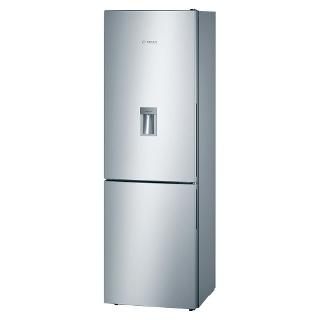 Buy Bosch KGW36XL30G Fridge Freezer, A++ Energy Rating, 60cm Wide, Stainless Steel Online at johnlewis.com