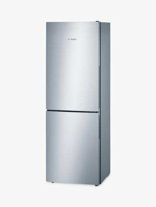 Buy Bosch KGV33VL31G Fridge Freezer, A++ Energy Rating, 60cm Wide, Stainless Steel Look Online at johnlewis.com