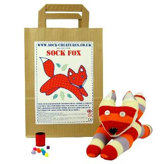 Buy Sock Creatures Sock Fox Online at johnlewis.com