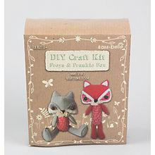 Buy Sass and Belle Freya and Frankie Fox Craft Kit Online at johnlewis.com