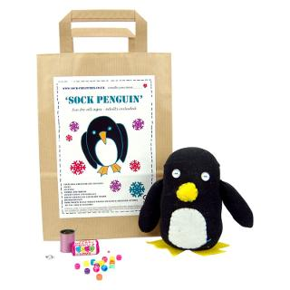 Buy Sock Creatures Sock Penguin Online at johnlewis.com