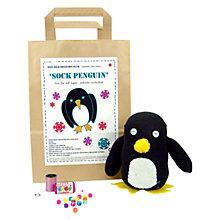 Buy Sock Creatures Sock Penguin Online at johnlewis.com